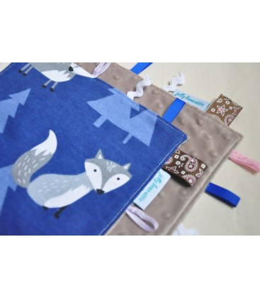 Blue Fox Baby Taggy