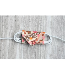 Peach Blossoms Cable Organiser