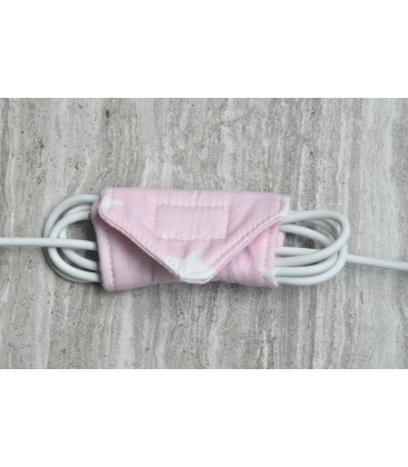 Pink Star Cable Organiser