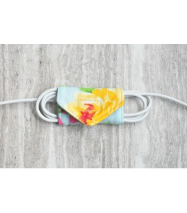 Spring Flowers Cable Organiser