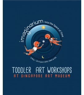 Toddler Art Workshop at Singapore Art Museum