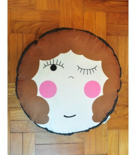 Hello Dolly! Round Cushion (Caelyn)