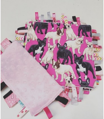 Pink Doggy  Baby Taggy