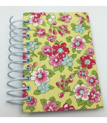 Yellow Floral To-Do List Bound Handmade Book
