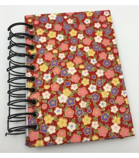 Cherry Blossoms To-Do List Bound Handmade Book