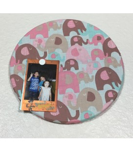 Baby Elephant Fabric Cork Boards