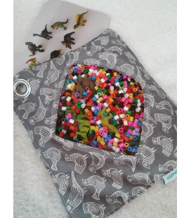 Large Dinosaur Themed iSpy Bag